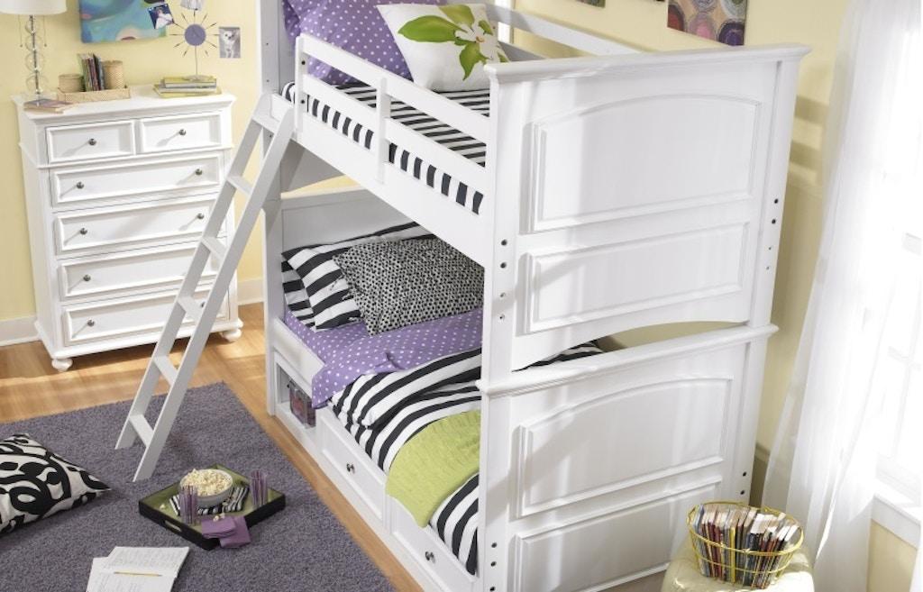 Legacy Classic Furniture Madison Twin Bunk Bed 458505 Talsma