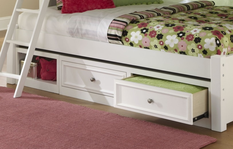Legacy Classic Furniture Madison Under bed storage unit 458596 & Madison Under bed storage unit