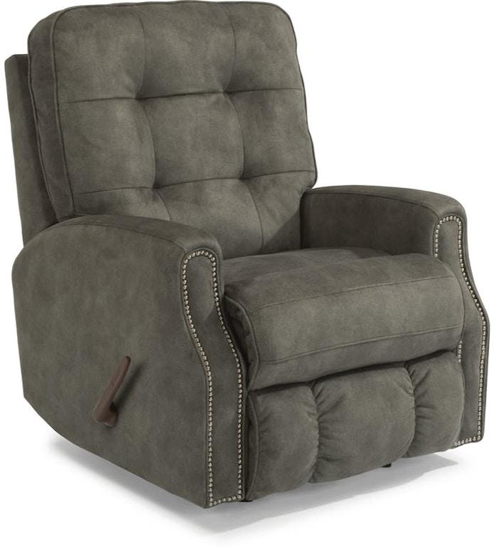 recliner au harvey leather buy norman andover rocker