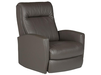 Best Home Furnishings Space Saver Power Rocker Recliner in Steel 281968