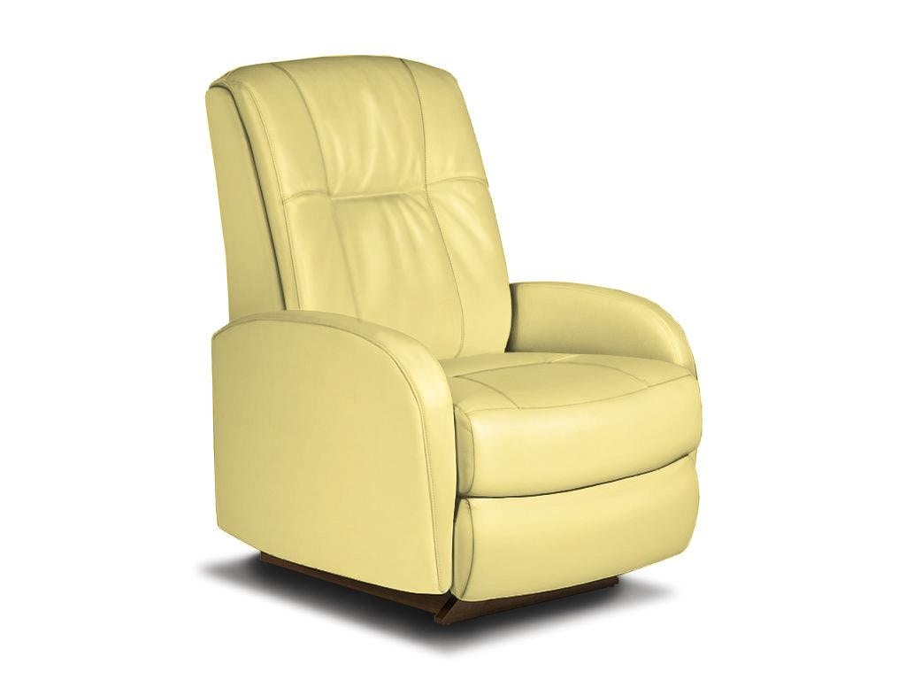 Best Home Furnishings Swivel Rocker Recliner In Maize 281962