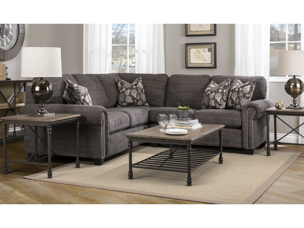 DecorRest Sectional With Pillows Talsma Furniture - Decor rest sectional