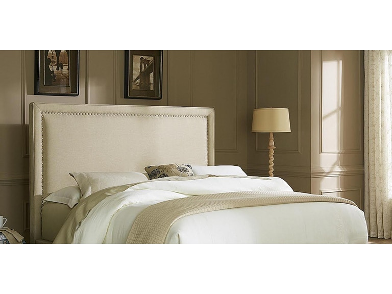 Liberty Furniture King Upholstered Headboard With Nailhead Trim 351308