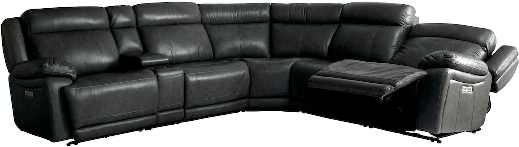 Evo Power Reclining Sectional
