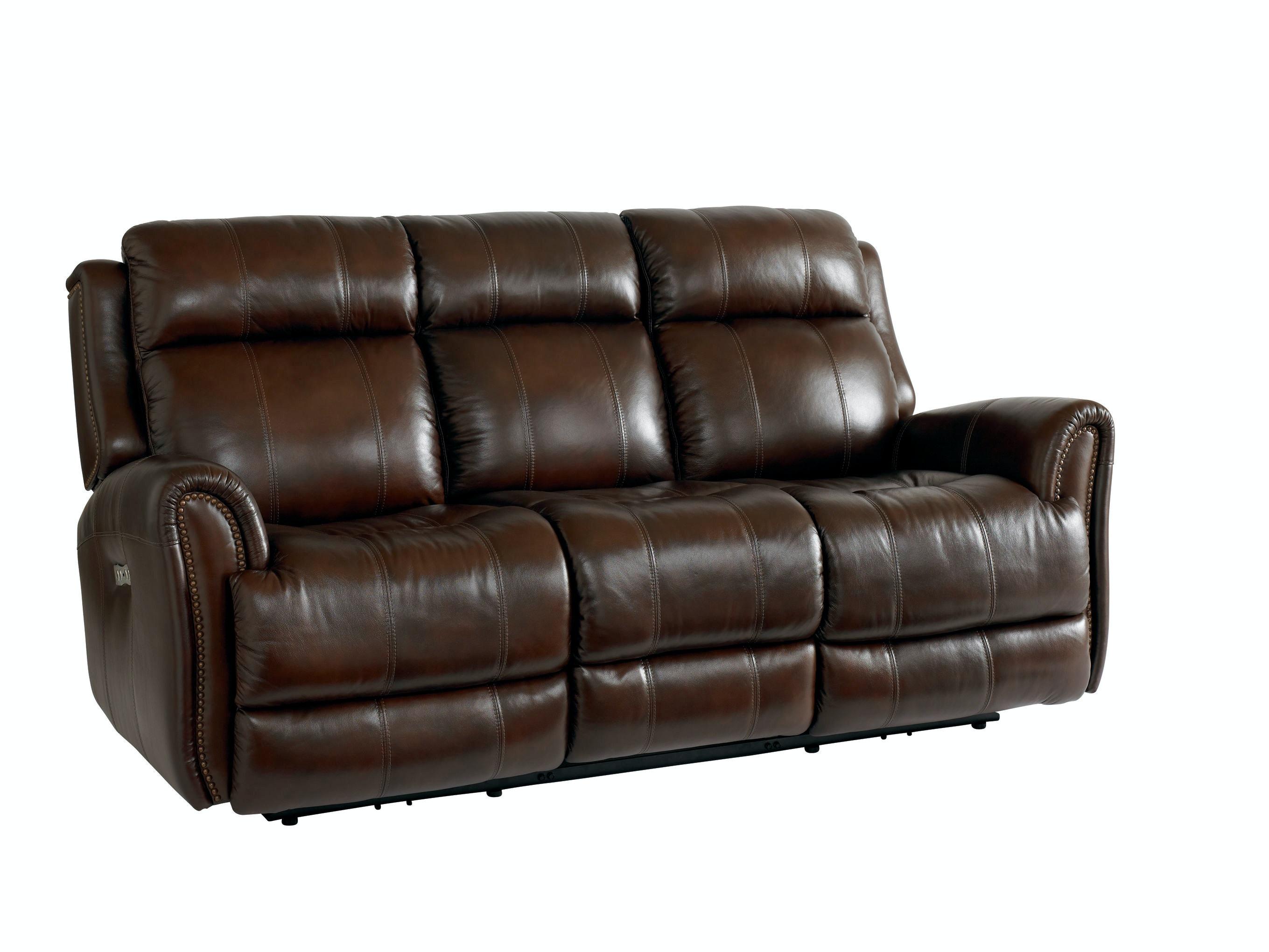Bassett Marquee Power Reclining Sofa 742050