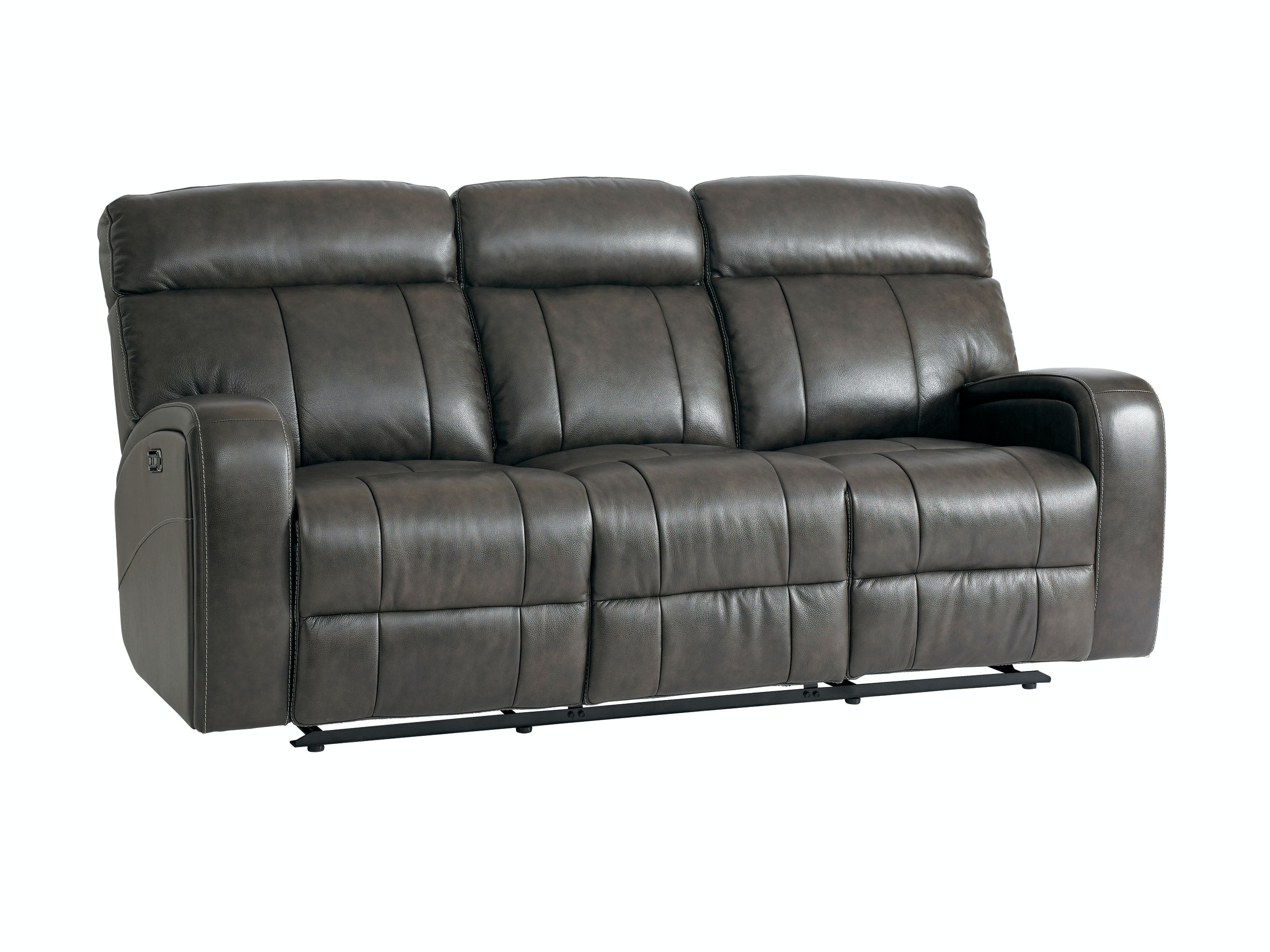 bassett beaumont power reclining sofa 742062 talsma furniture rh talsmafurniture com leather power reclining sofa with console leather power reclining sofa with console