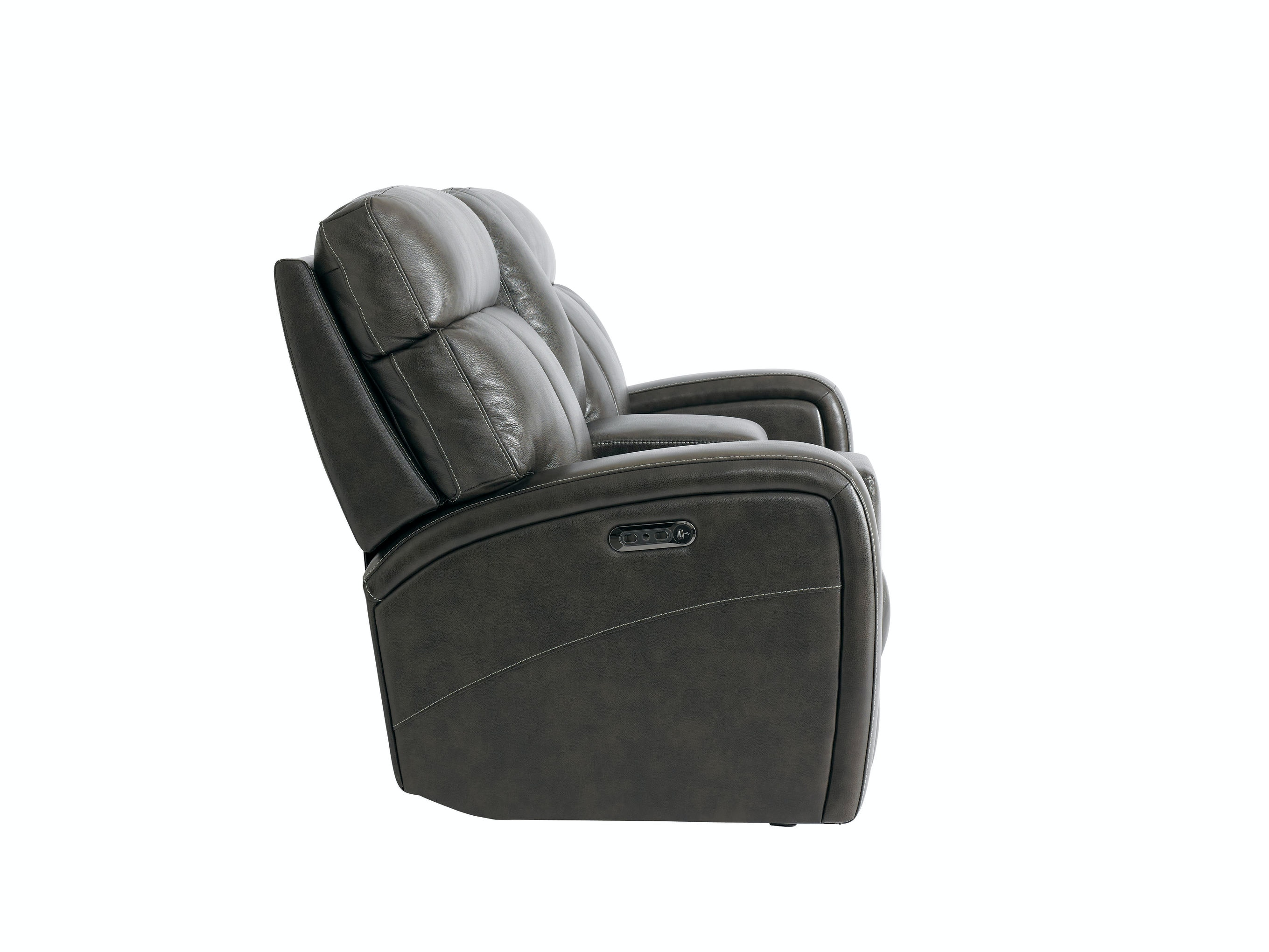 Bassett Beaumont Power Reclining Loveseat With Console 742064