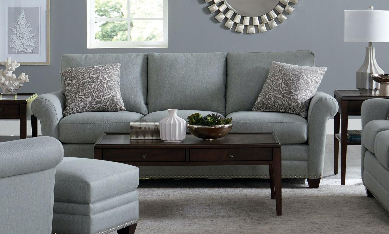 742638. Sofa With Pillows
