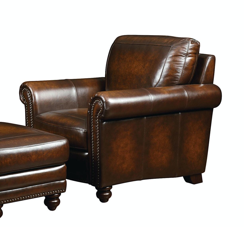 Bassett Hamilton Leather Chair 25001
