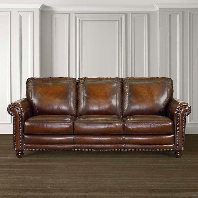 Bett Hamilton Leather Sofa 24999