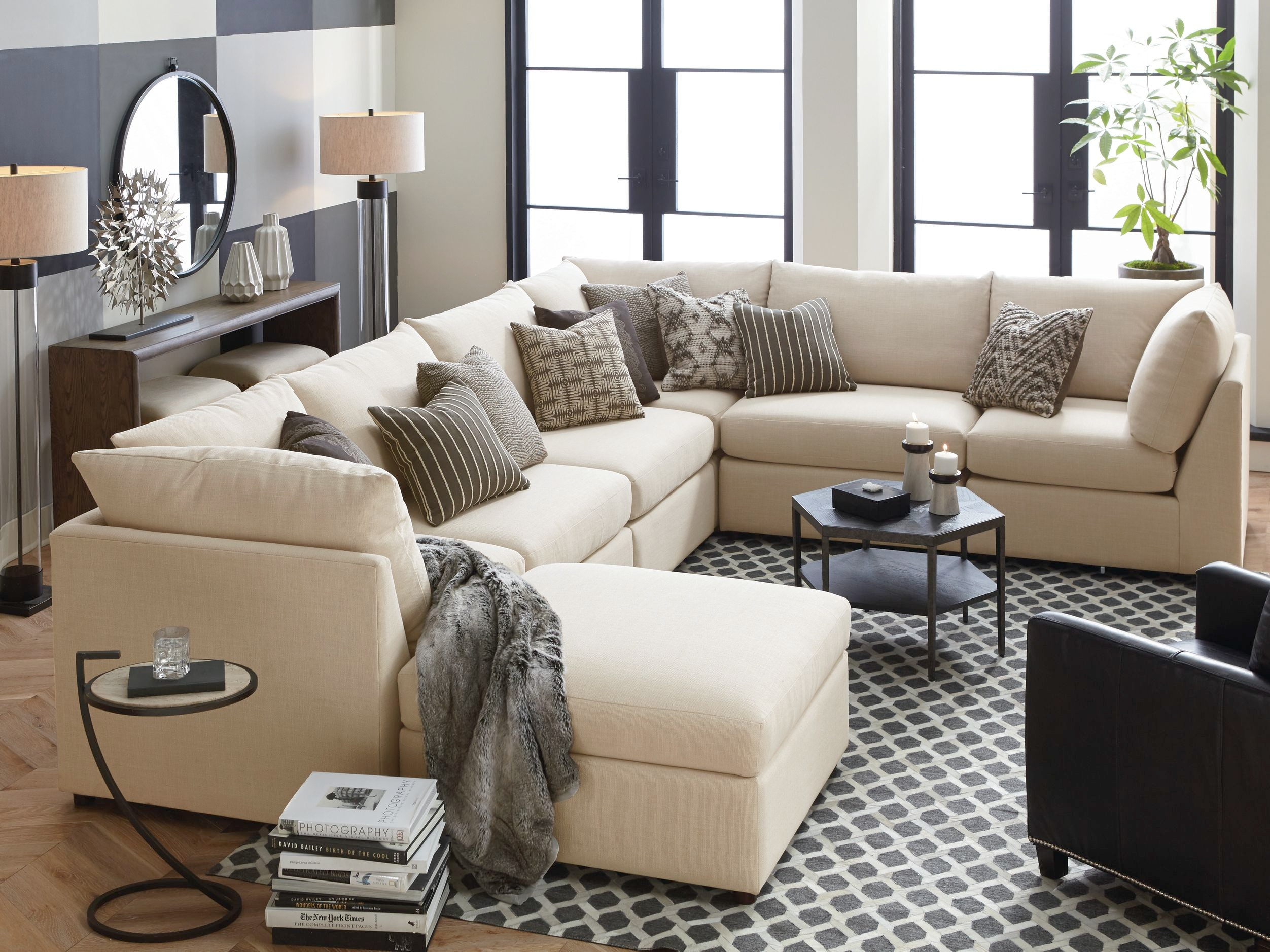 Bassett Furniture Furniture Catalog. Sectional With Pillows And Ottoman Bassett  Furniture Catalog A