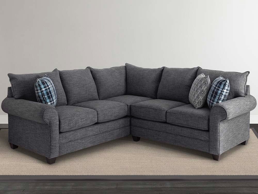Bassett Alex 2 Pc Sectional 568674,568676