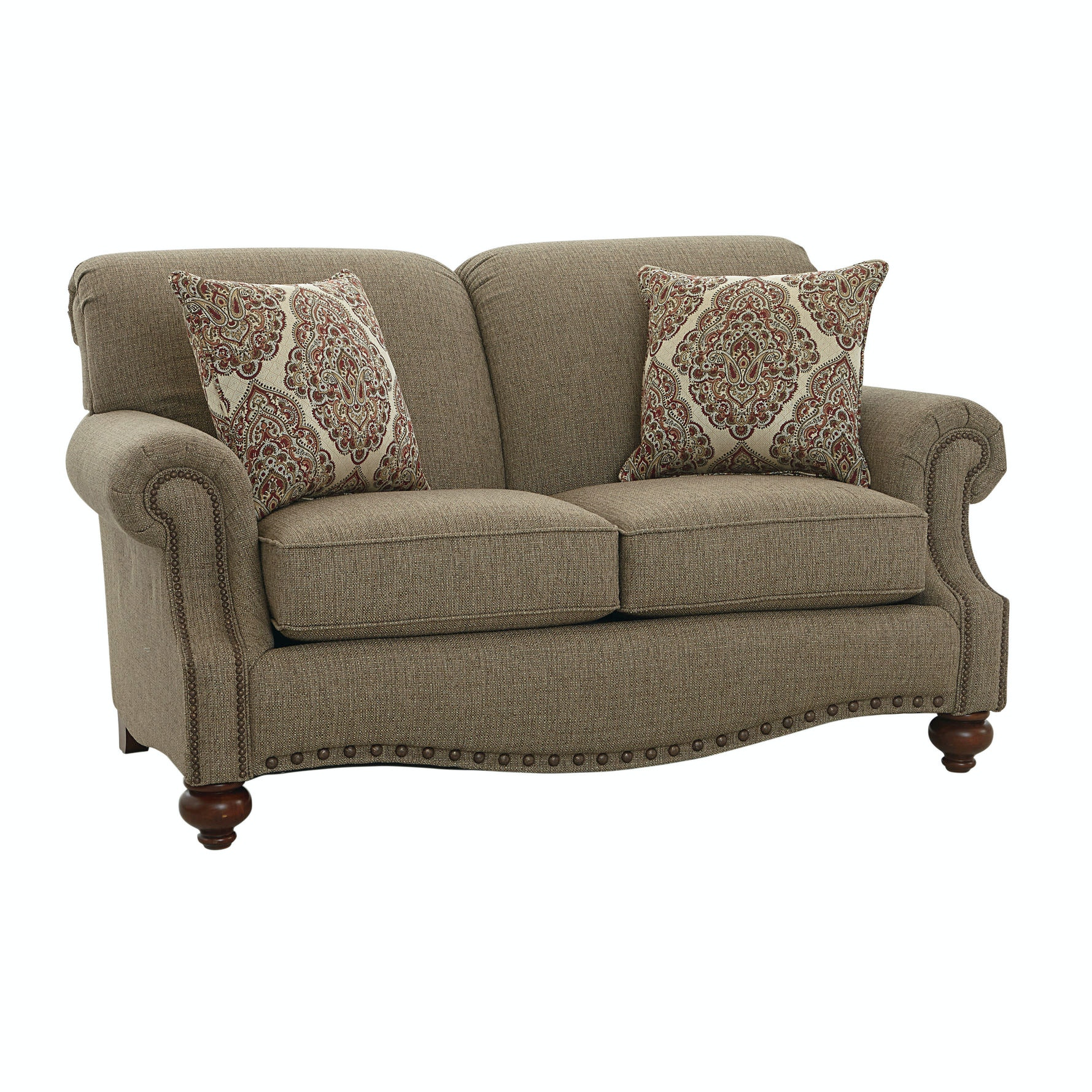 742649. Loveseat With Pillows