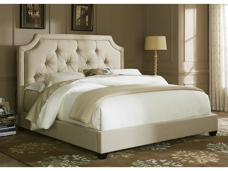 Liberty Furniture Tufted Queen Upholstered Bed 400-BR13HUBed ...