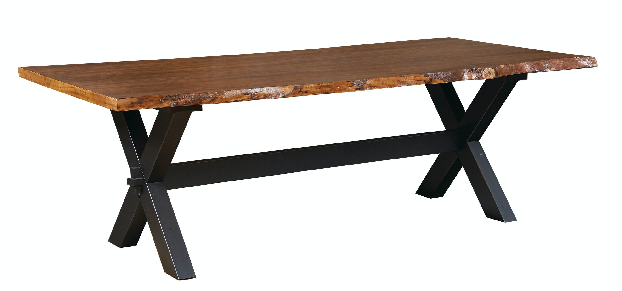 Bassett 90 Live Edge Table 612745
