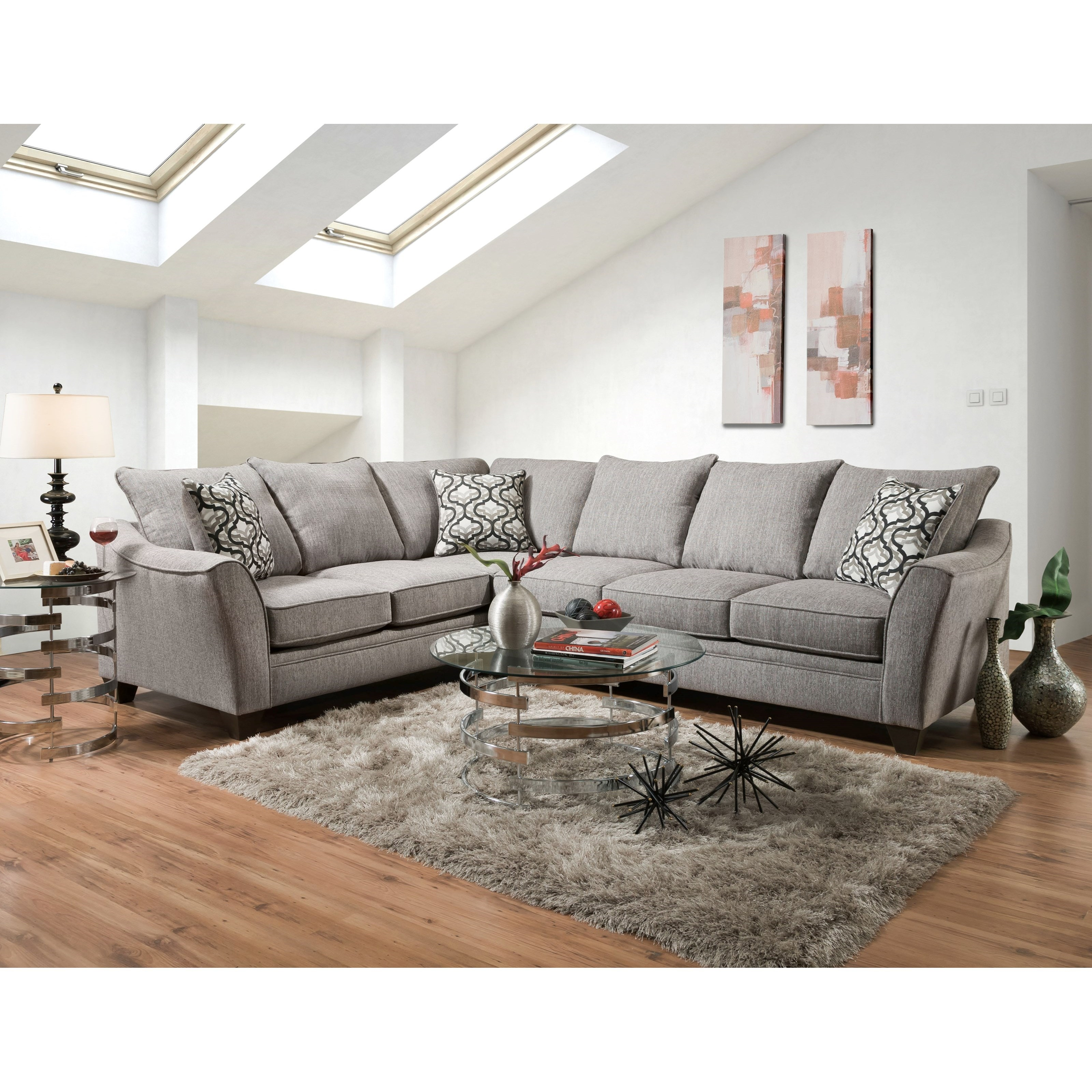 Gentil American Furniture Sectional 814272 84 At Talsma Furniture