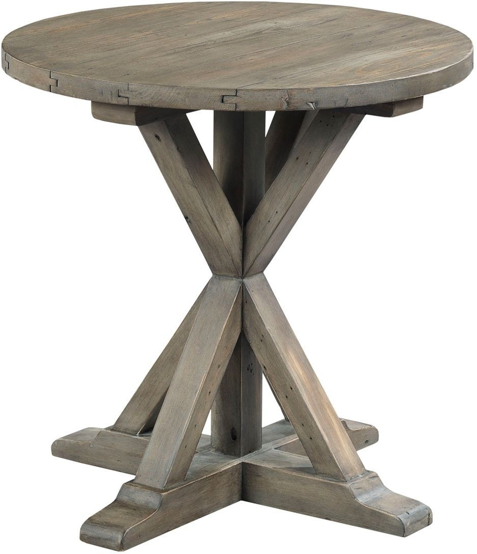 Hammary Reclamation Place Round End Table 574281
