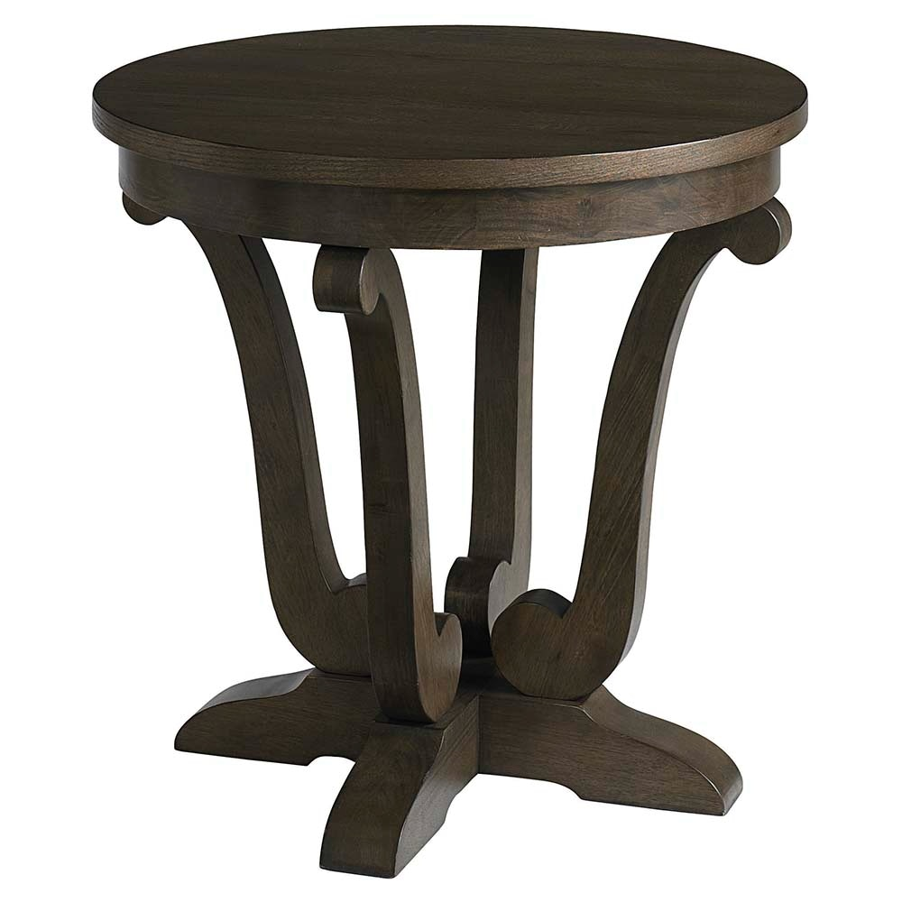 Bassett Provence Round End Table 616642 Talsma Furniture
