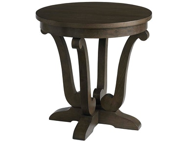 Bassett Provence Round End Table 616642