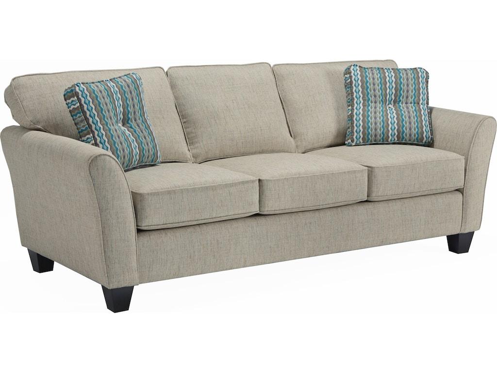 Broyhill Maddie Sofa With Pillows 676267 Talsma