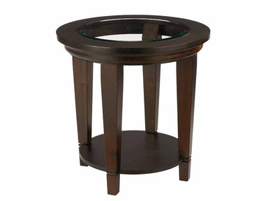 Bassett Easton Round Lamp Table - Java 30225
