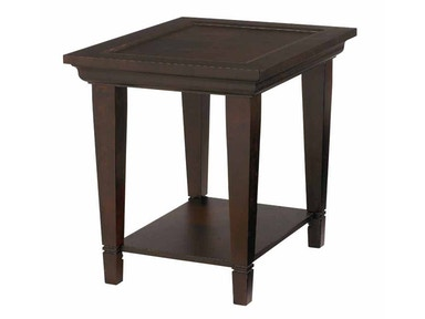 Bassett Easton End Table - Java 31869