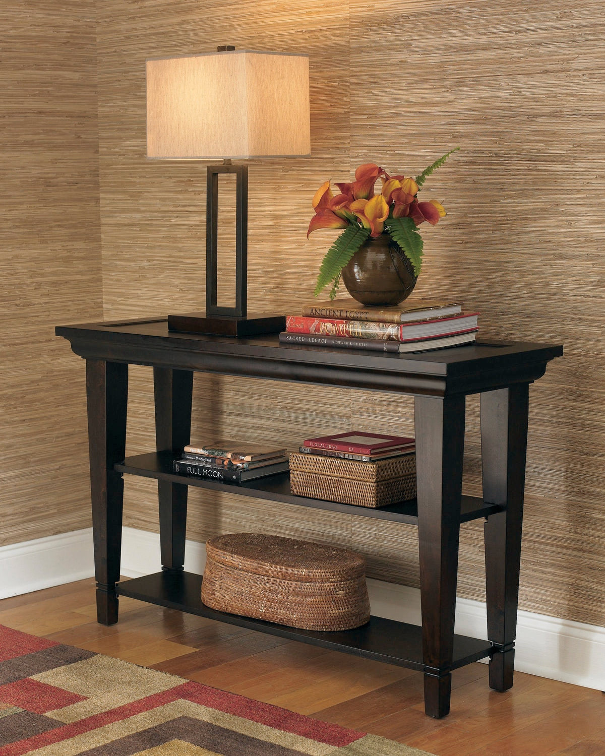 Bassett Easton Console Table   Java 30224