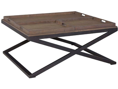 Bassett Artisanal Tray Cocktail Table 571630