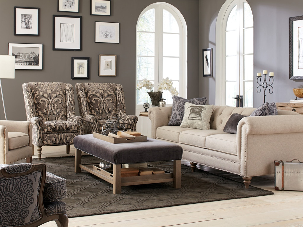 Cozy Life Sofa With Pillows 535551