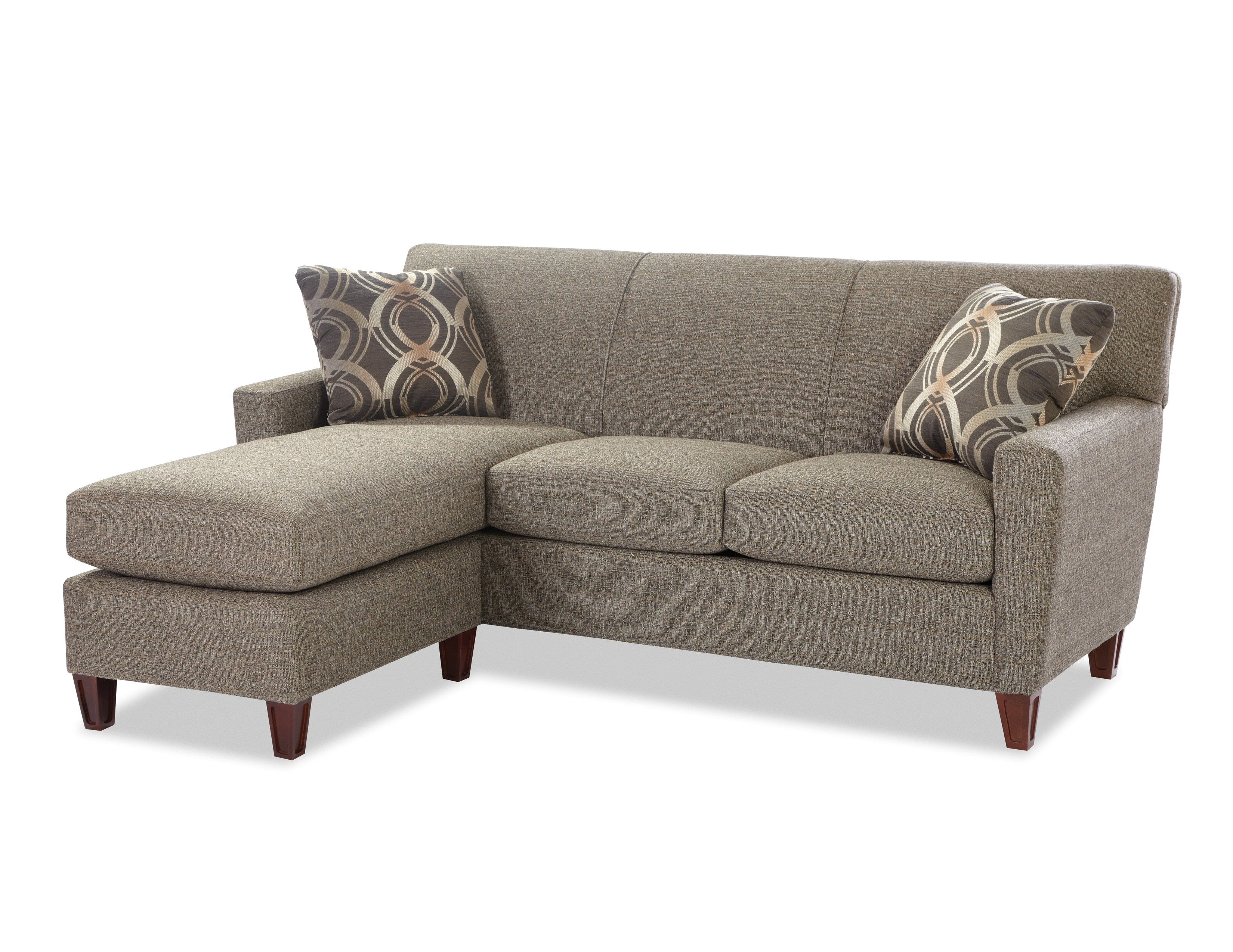 Cozy Life Chaise Sofa With Pillows 443086