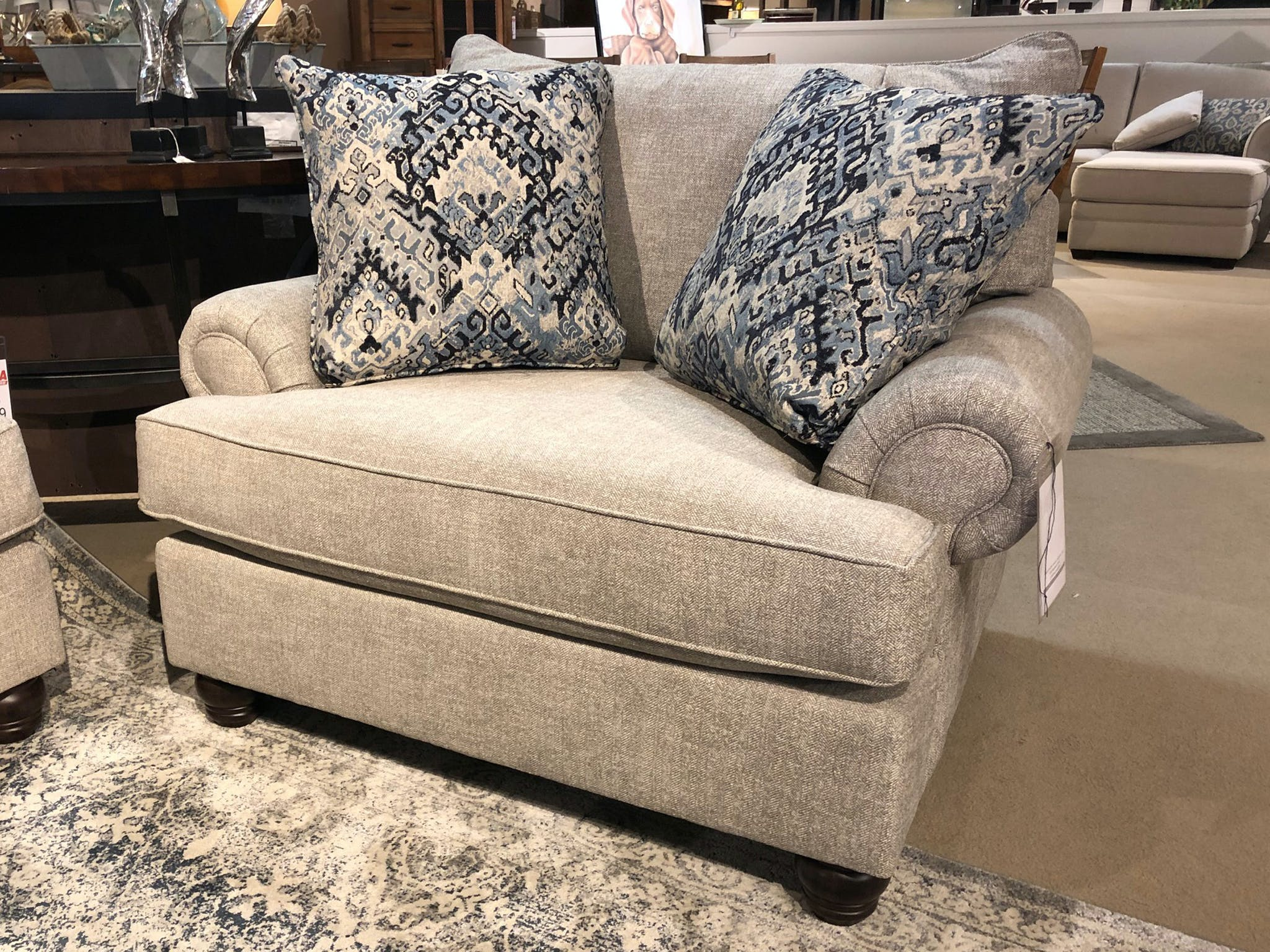 Cozy Life Chair And A Half With Pillows 857453 Talsma Furniture Hudsonville Holland Byron