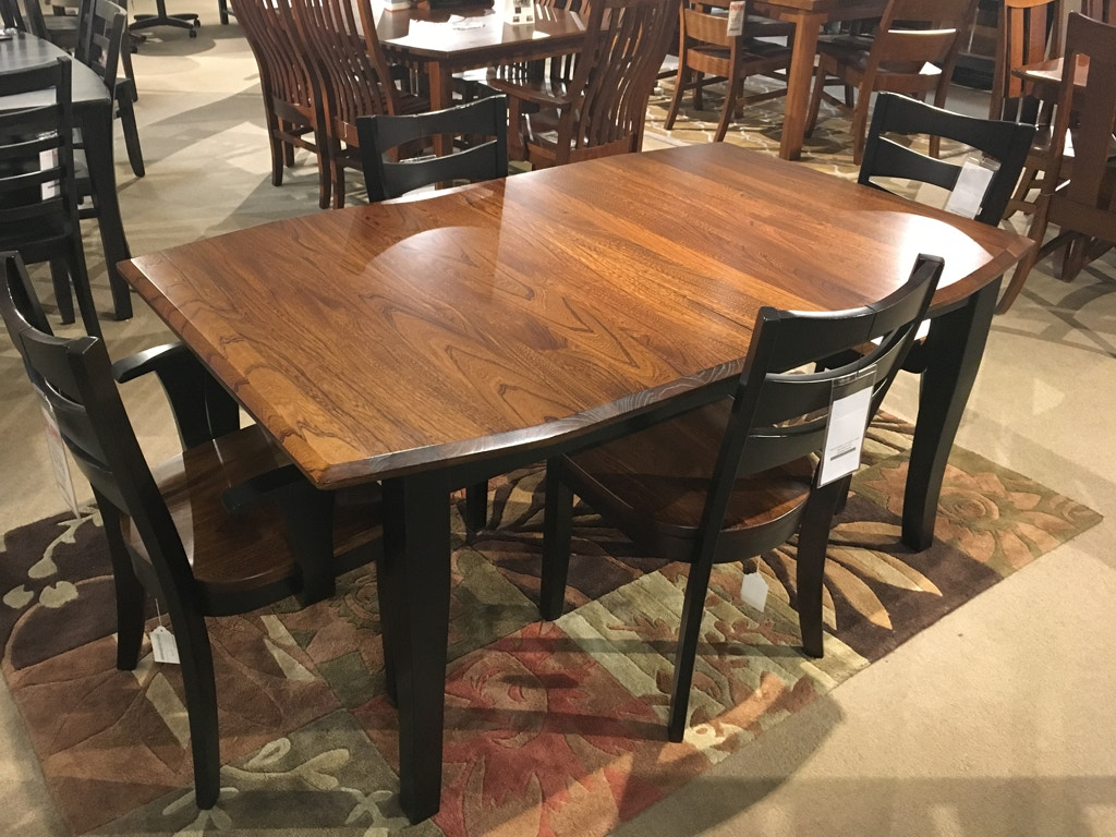 Amish works amish elm top table 237885