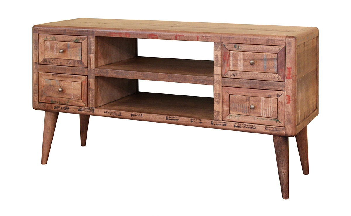 Wonderful International Furniture Direct Retro Console Table 610832