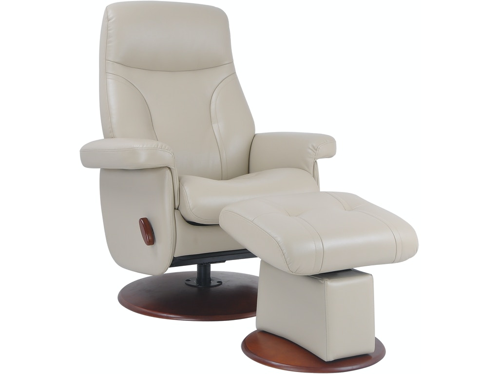 benchmaster swivel chair and ottoman