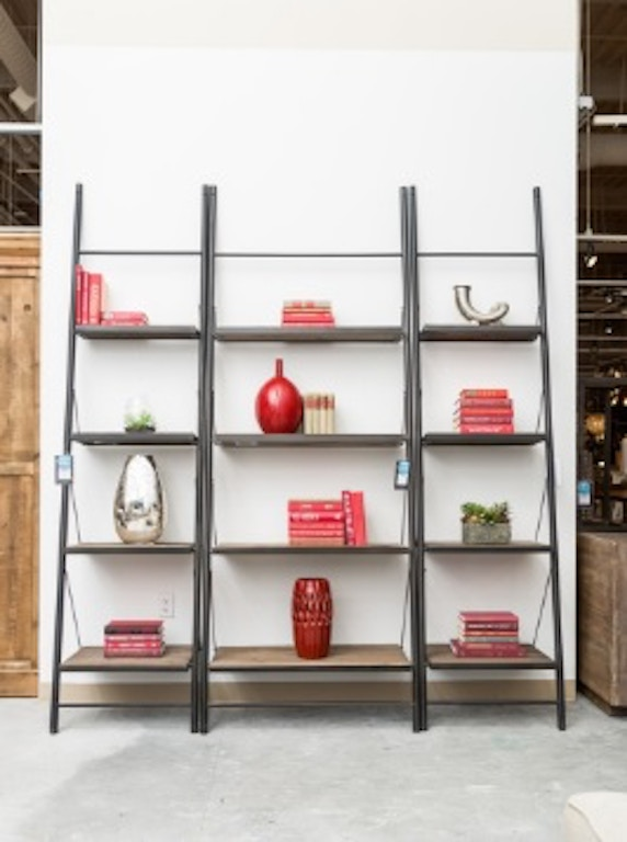 Clic Home Furnishings Small Leaning Bookcase 636168