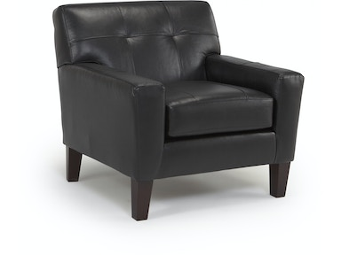Best Home Furnishings Tufted Leather/ Match Chair 309857