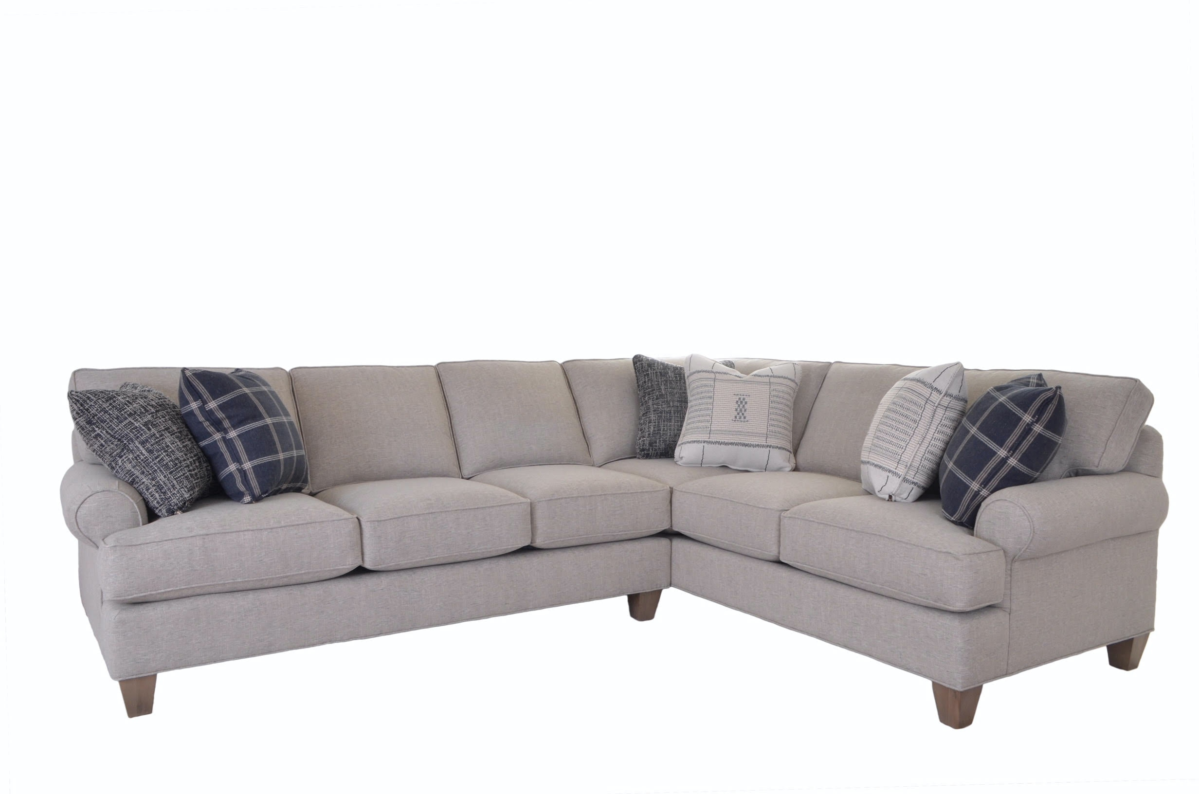Cozy Life Living Room Sectional With Pillows 783281 84 At Talsma Furniture