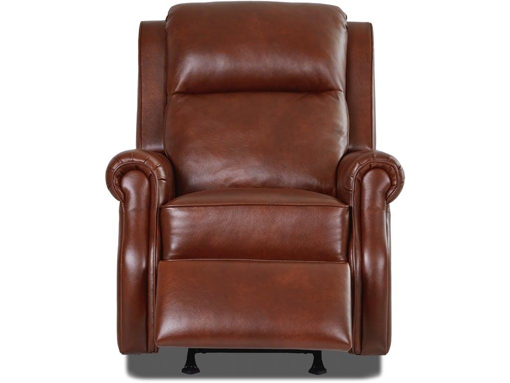comfort design jamestown leather power rocker recliner