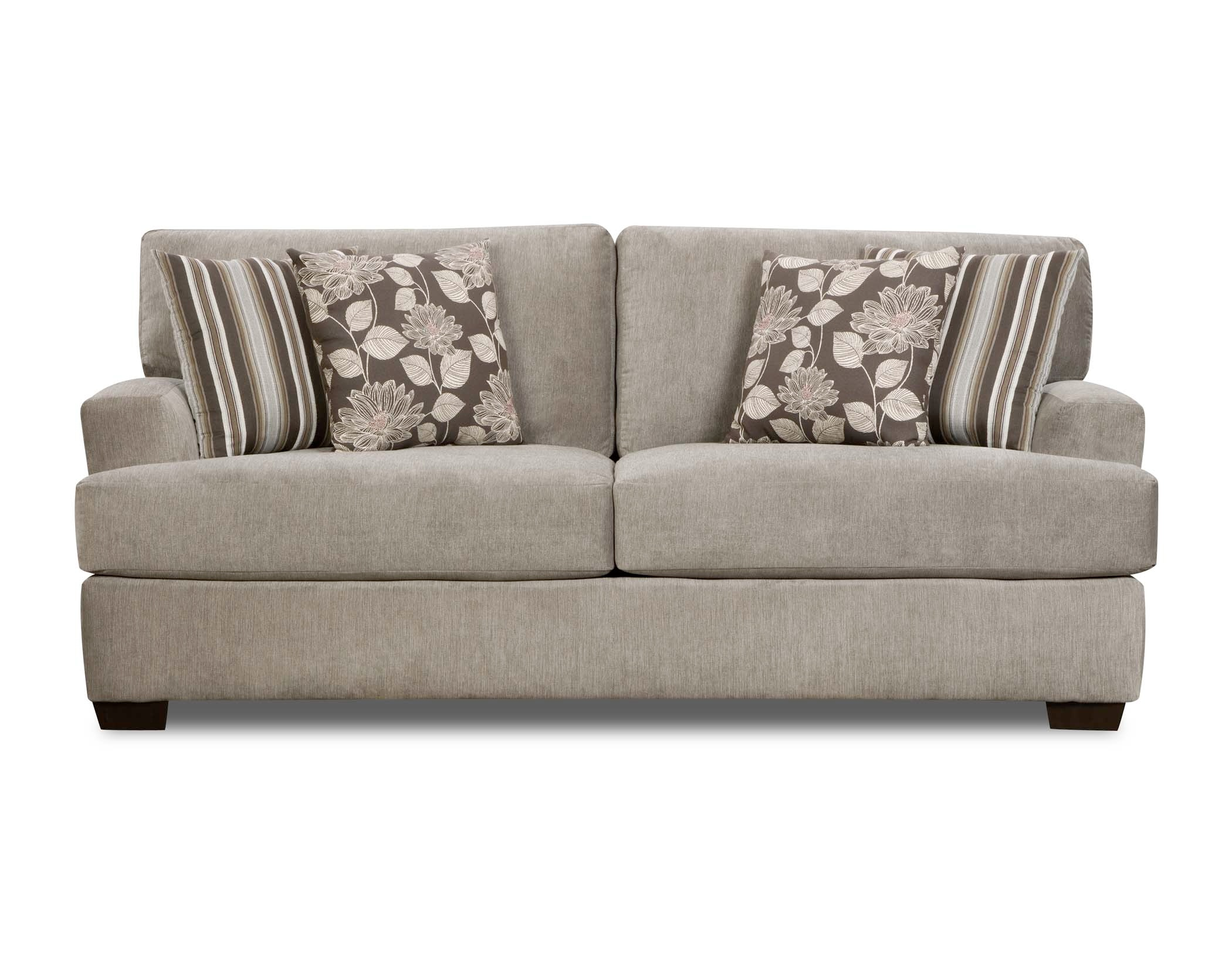 Great Madison Manor Sofa With Pillows 538659