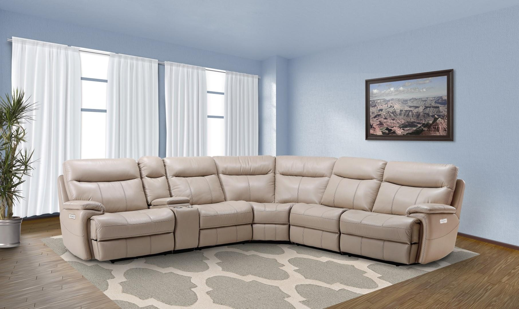 Parker House Dylan Power Sectional Mdyl 6pc Talsma Furniture