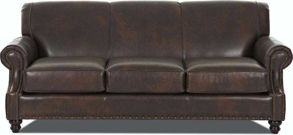 Simple Elegance Leather Sofa 855927