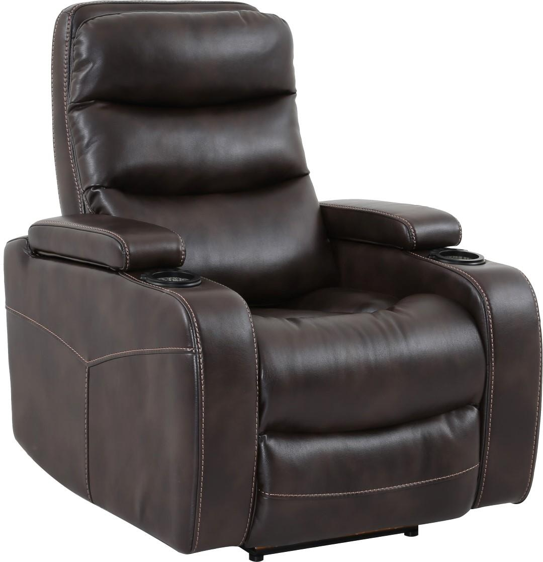 Parker House Home Theater Power Recliner In Truffle 692637