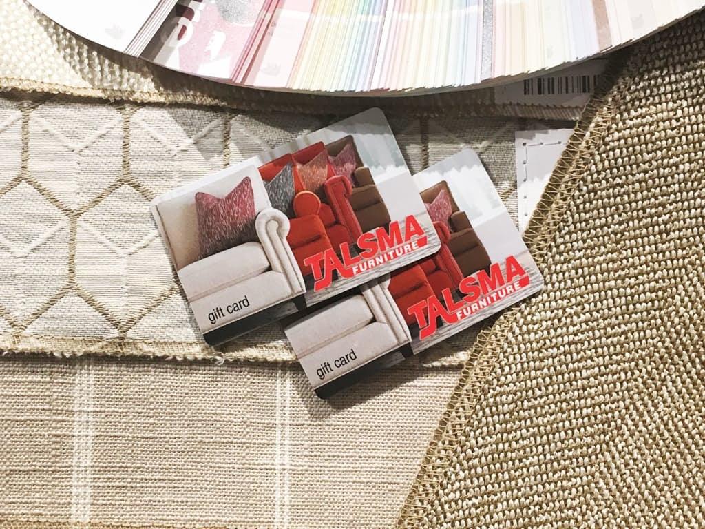 Charmant Talsma Furniture $1,000 Gift Card Gc1000