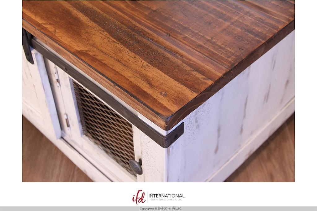 International Furniture Direct 2 Door End Table 697431 Talsma
