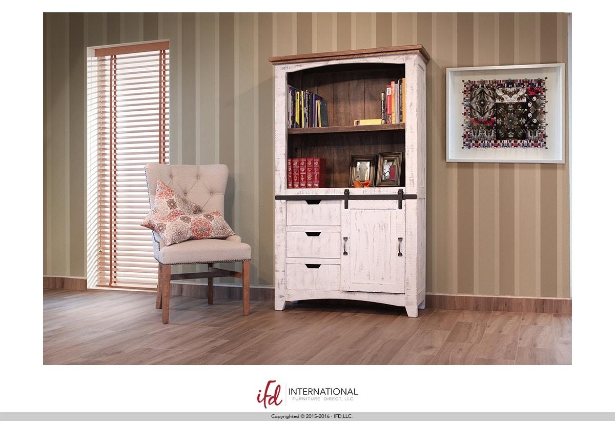 Bookcase with Sliding Door  sc 1 st  Talsma Furniture & International Furniture Direct 80\