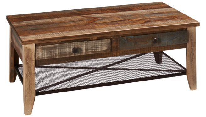 Charmant International Furniture Direct Reclaimed Wood Cocktail Table 366828