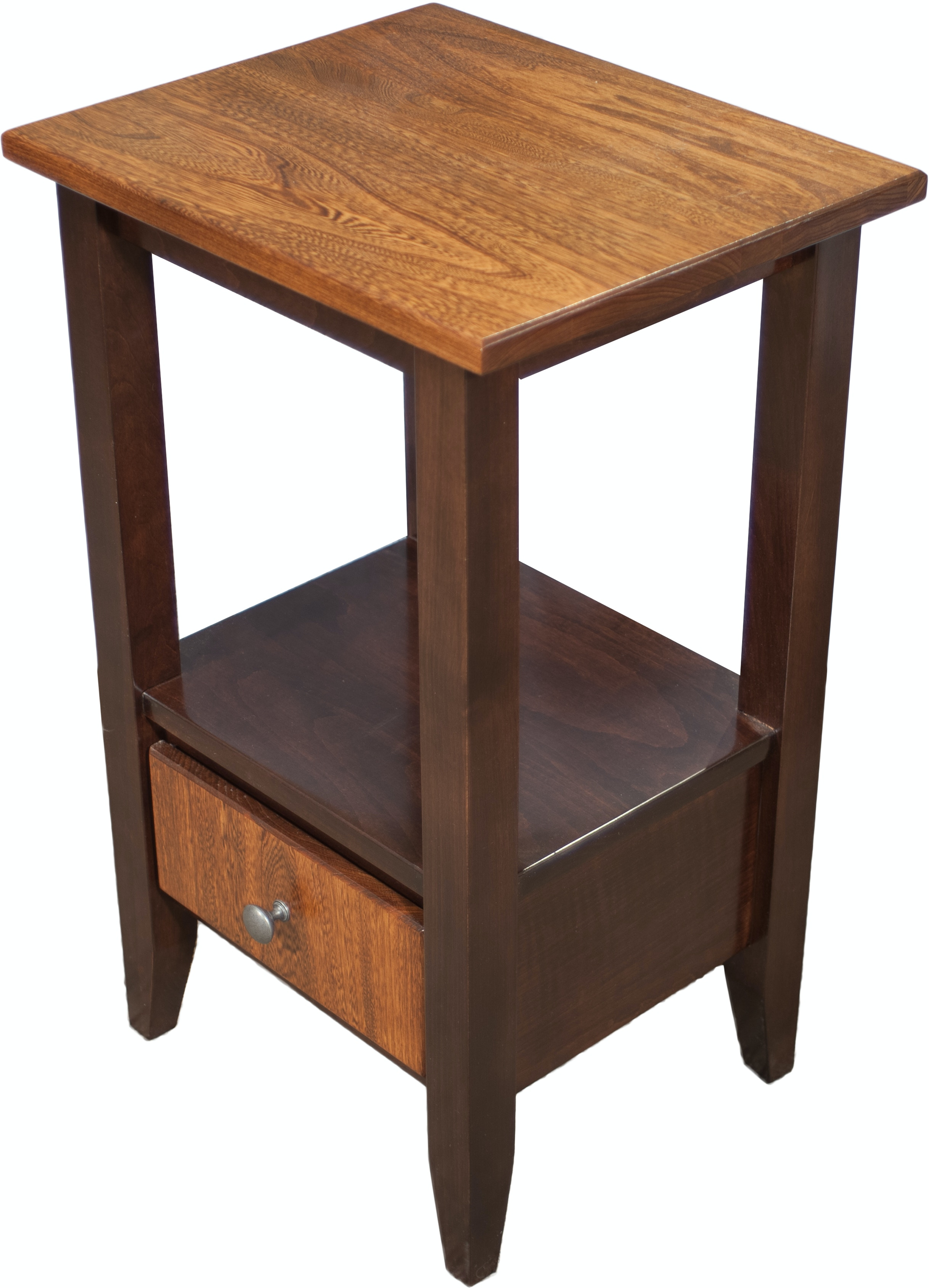 Amish works amish tall end table 281587