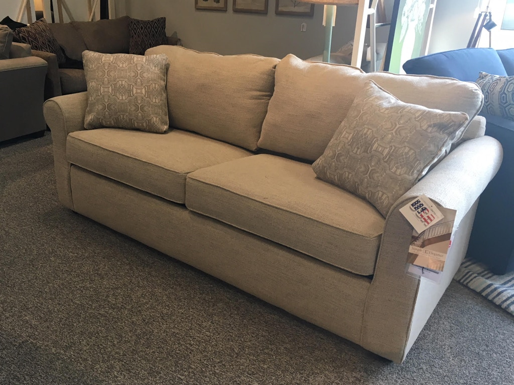 Simple elegance queen sleeper with memory foam mattress 816735