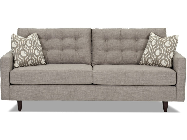 Simple Elegance Sofa With Pillows 567884