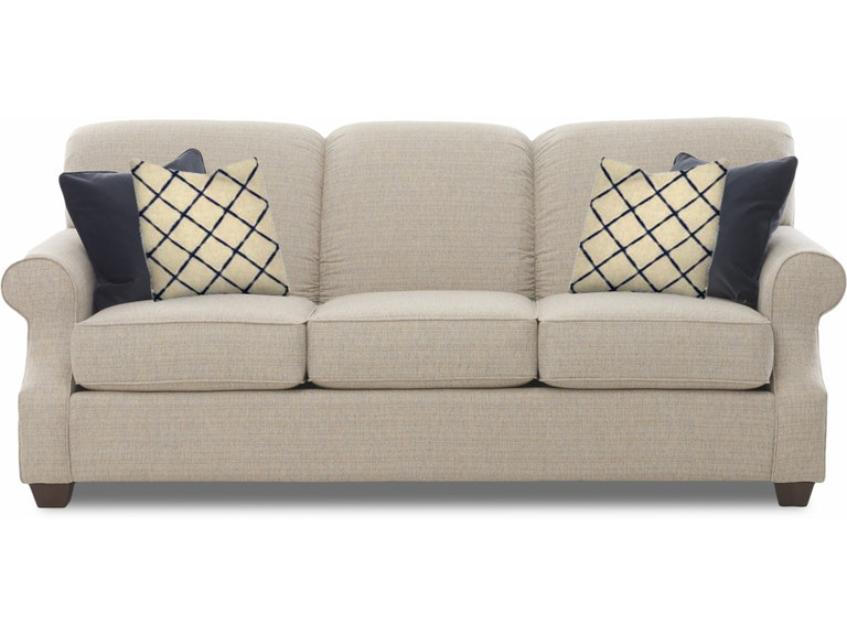Simple Elegance Sofa With Pillows 855919